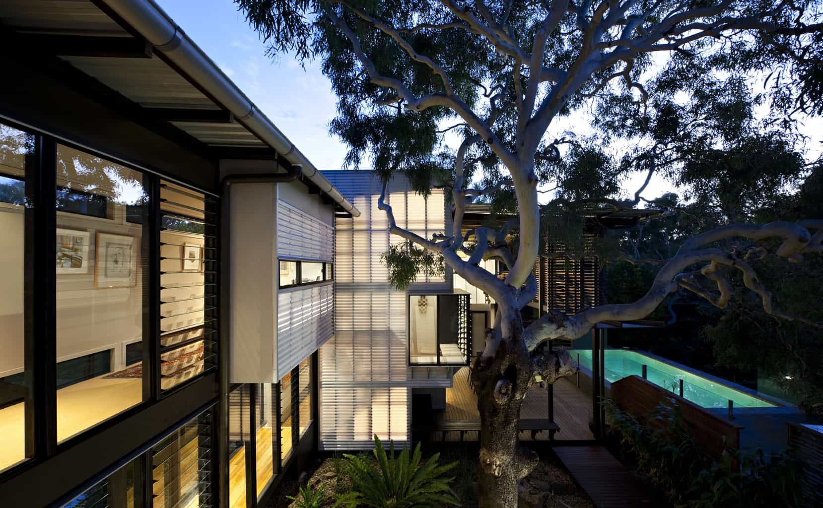 Treehouse architecture by Marcus Beach