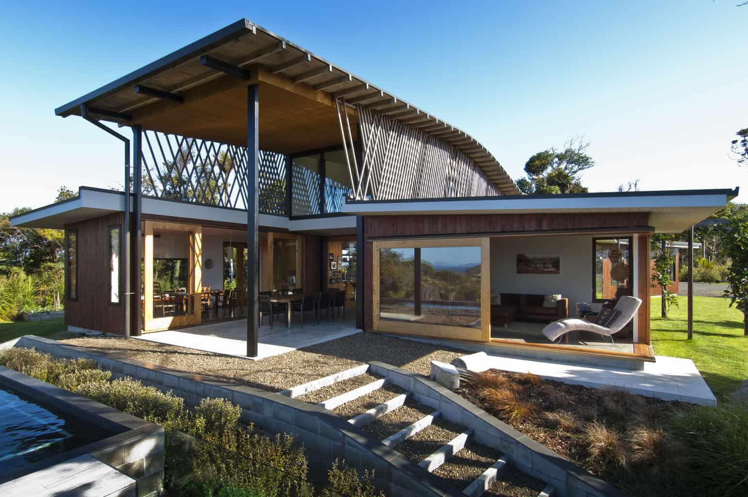 Tree canopy architecture by Tennent + Brown