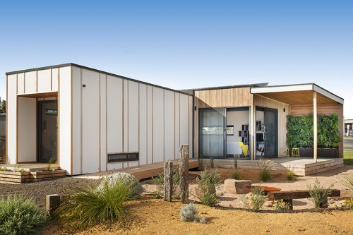 Sustainable prefab architecture