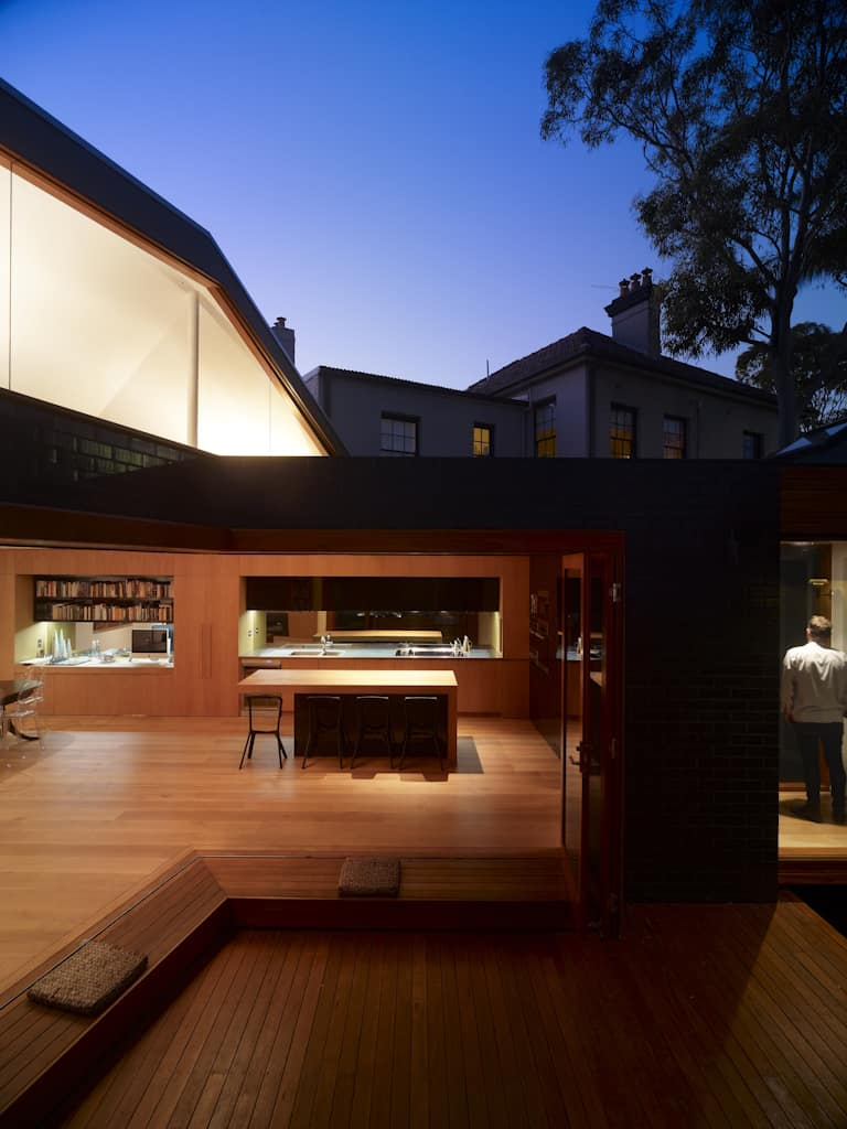 Striking geometry for modern take on old miners cottage