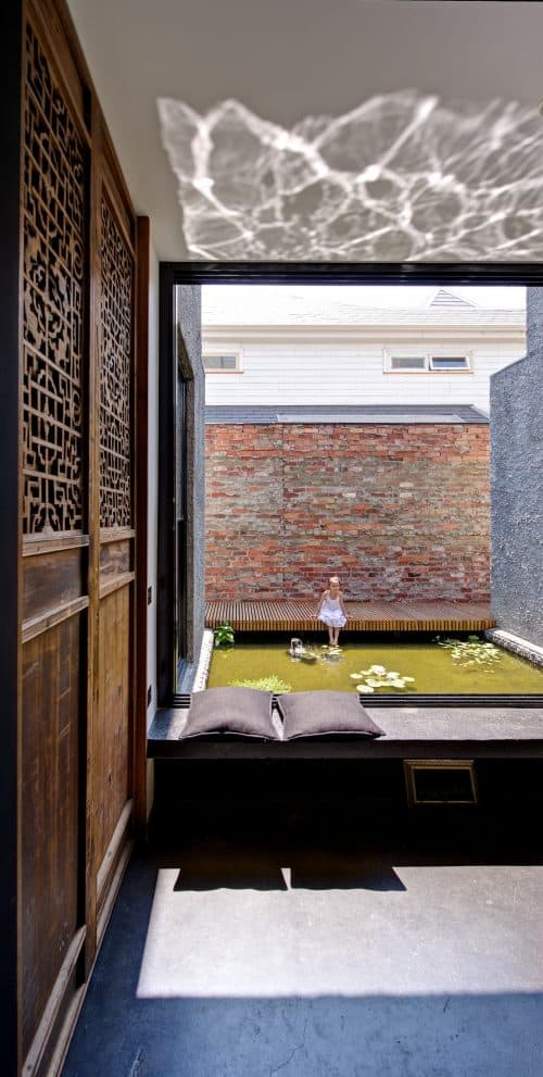 The 'new old' house featuring Melbourne laneway art culture