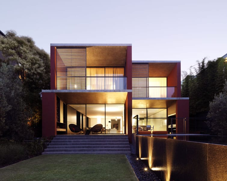Bold architectural colour inspired by the Australian outback